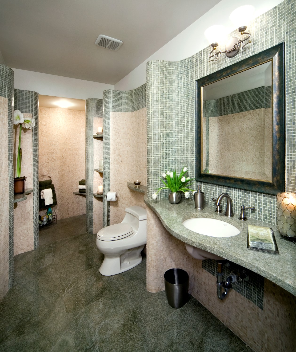 Organic Bathroom Design Marblex Design International